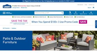 Lowe's Patio Furniture