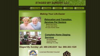 Staged By Sunday