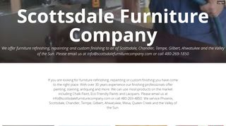 Scottsdale Furniture Company